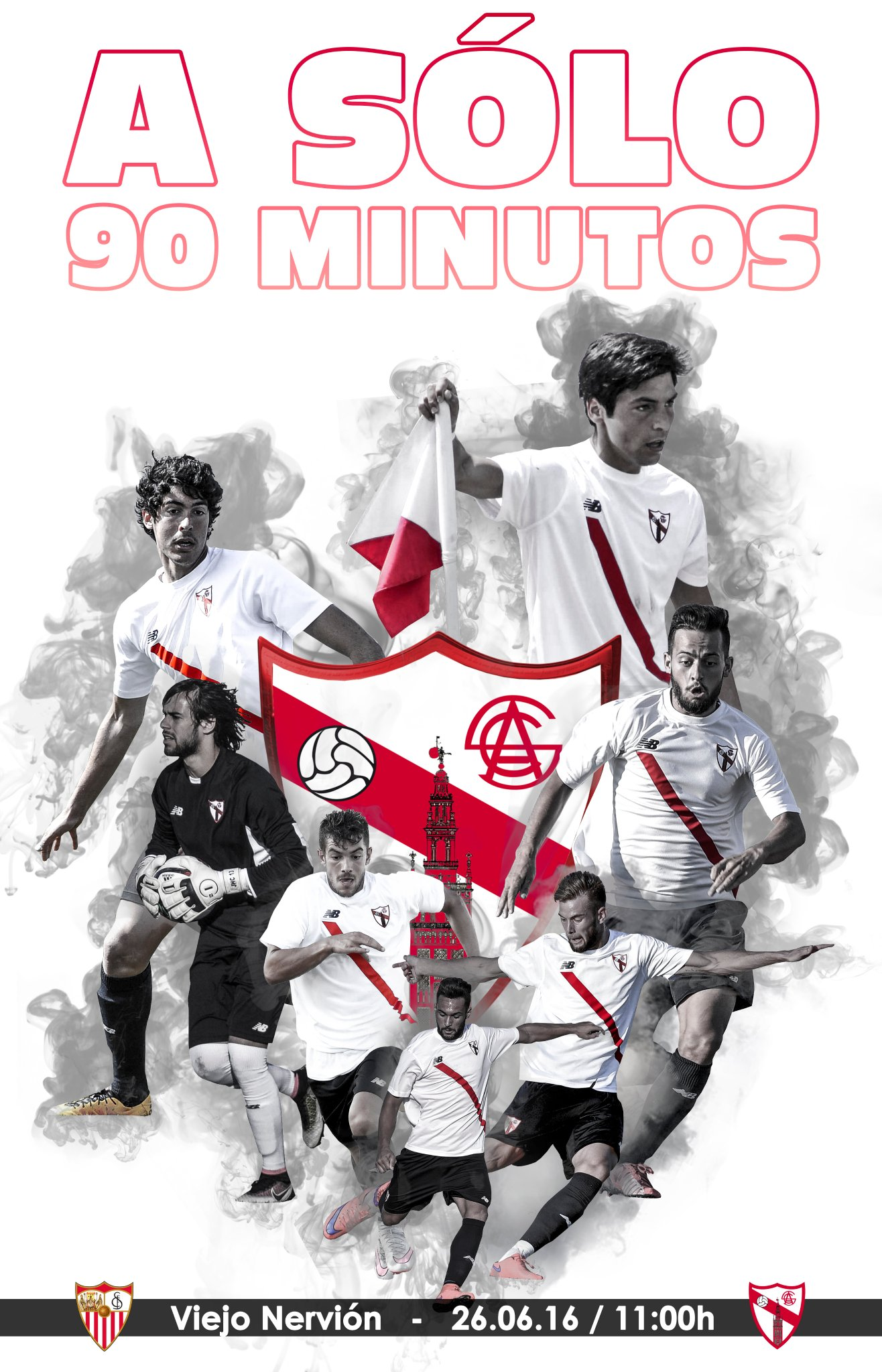 Todos con el Sevilla Atlético!!!  #sangredenuestrasangre