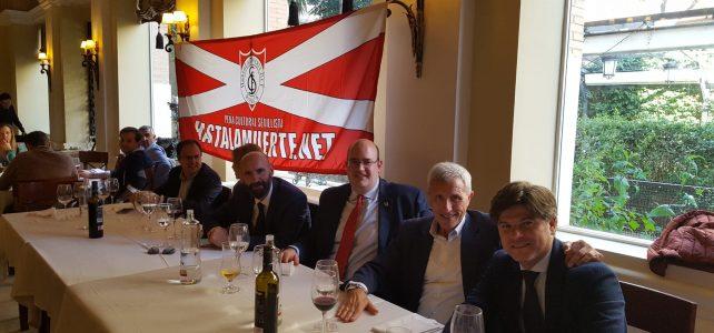 Almuerzo por XV aniversario de la fundación de la peña HLM.net